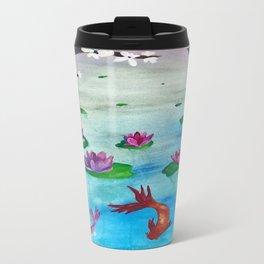 Japanese Koi Travel Mug