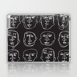 Facial Expression (Inverted) Laptop & iPad Skin