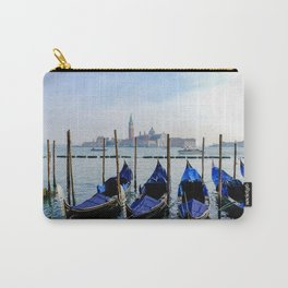 Row of Gondolas Venice Italy Carry-All Pouch
