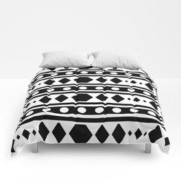 Black Tribal Pattern Comforters