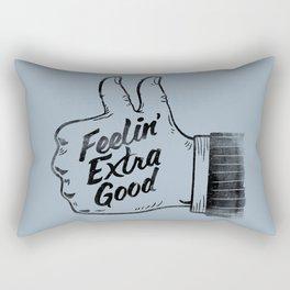 Feelin' Extra Good Rectangular Pillow