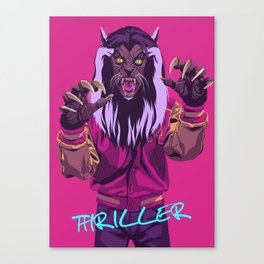 THRILLER - Werewolf Version Canvas Print