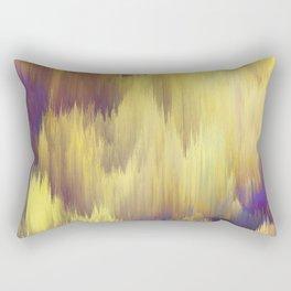 Glitch art Dune #glitch #abstraction Rectangular Pillow
