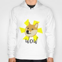 doge Hoodies featuring Doge by Subtle Tee