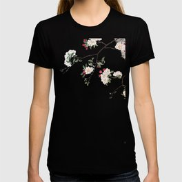 pink cherry blossom Japanese woodblock prints style T-shirt
