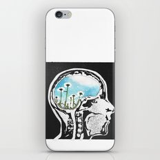 Brain Flowers iPhone & iPod Skin