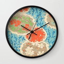 Flower Ball Wall Clock
