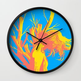 Even if it decays you are beautiful Wall Clock