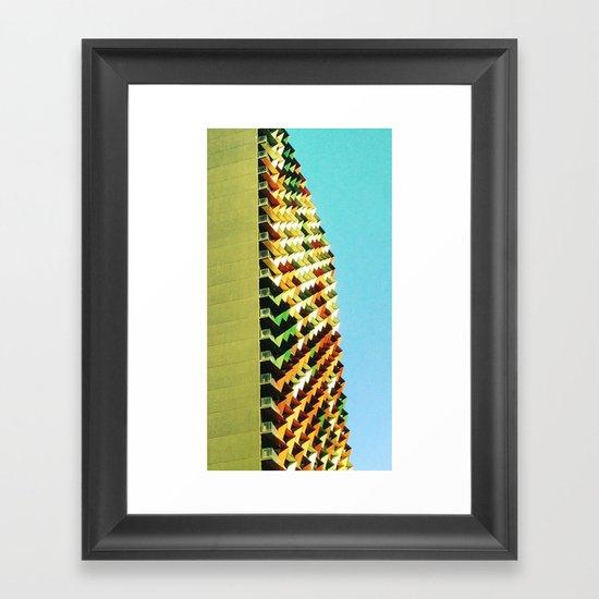 Build it Up Framed Art Print