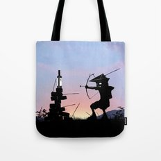 Green Arrow Kid Tote Bag