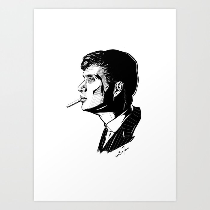 Peaky Blinders - It's just a bad day, not a bad life. Art Print