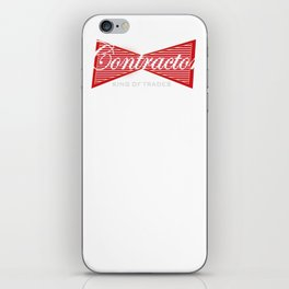 Funny Contractor Construction Contractors iPhone Skin