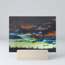 Sunset, Chapman Corner Mini Art Print