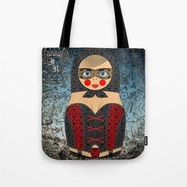 Laced Matryoshka/Nesting Doll Tote Bag
