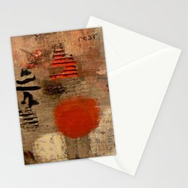 GEISHA SAD SONG Stationery Cards