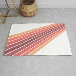 Colorful stripes design Rug