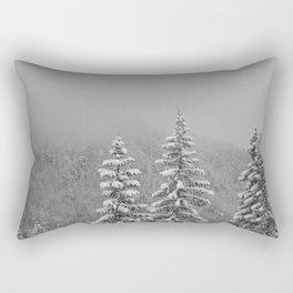 Snow2 Rectangular Pillow