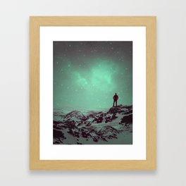 Lost the Moon While Counting Stars II Framed Art Print
