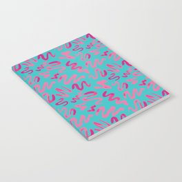 Squiggles Pattern Notebook
