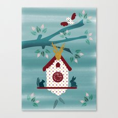 Cuckoo Tree  Canvas Print