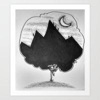 Personal Atlas Art Print