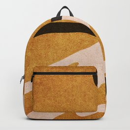 ABSTRACT ALPHABET / Script T Backpack
