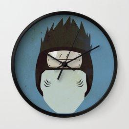 Kisame Hoshigaki Simplistic Face Wall Clock