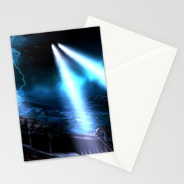 Watchers In The Water Stationery Cards