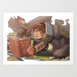 Toothless Art Prints | Society6