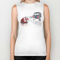olaf Biker Tanks featuring OLAF - INCENT by Churchill Designz