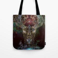 Medicina Cosmic Shoko - Light DeerTree Tote Bag