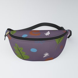 Purple Spring Fanny Pack