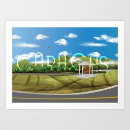 Caracas Art Print