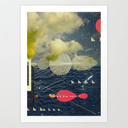 Mind-ship Art Print