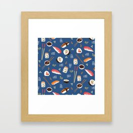 Sushi Party Framed Art Print