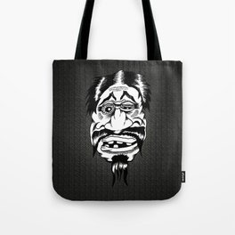 Fu Manchu Tote Bag