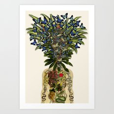 more than you thought anatomical collage by bedelgeuse Art Print
