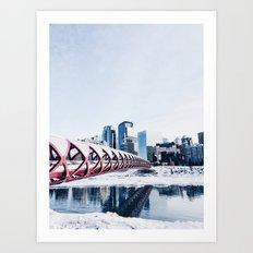 Calgary Art Print