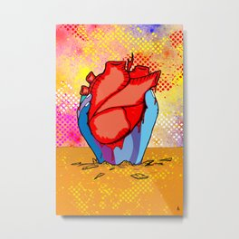 heARTh Metal Print
