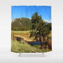 Along Fall River Shower Curtain