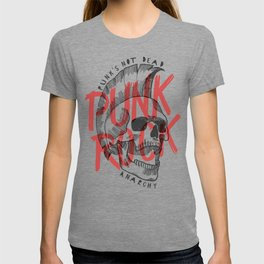 Punk Rock Skull T-shirt