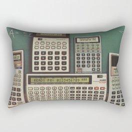 Calculators 2 Rectangular Pillow