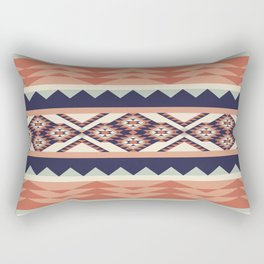 Native American Geometric Pattern Rectangular Pillow