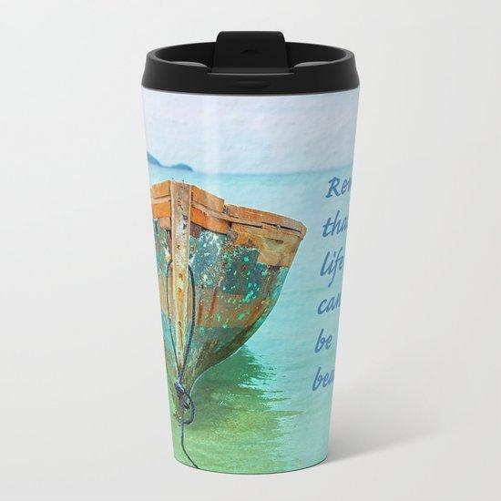 REMEMBER Metal Travel Mug