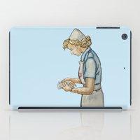nurse iPad Cases featuring Vintage Nurse by Bryony Ogilvie