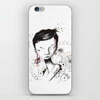 human iPhone & iPod Skins featuring Human by Ianah Maia