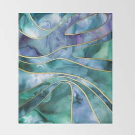 The Magnetic Tide Throw Blanket