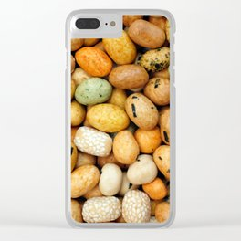 Crunchy seaweed peanut crackers Clear iPhone Case