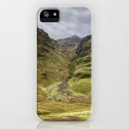 Scottish Highlands iPhone Case
