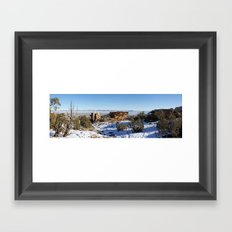 High Noon Panorama 2.0 Framed Art Print